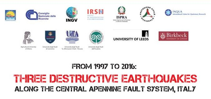 Field Trip - From 1997 to 2016: Three Destructive Earthquakes along the Central Apennine Fault system - Italy